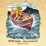 Robert McCloskey Burt Dow – Tidely Idley Adult Maize T-shirt