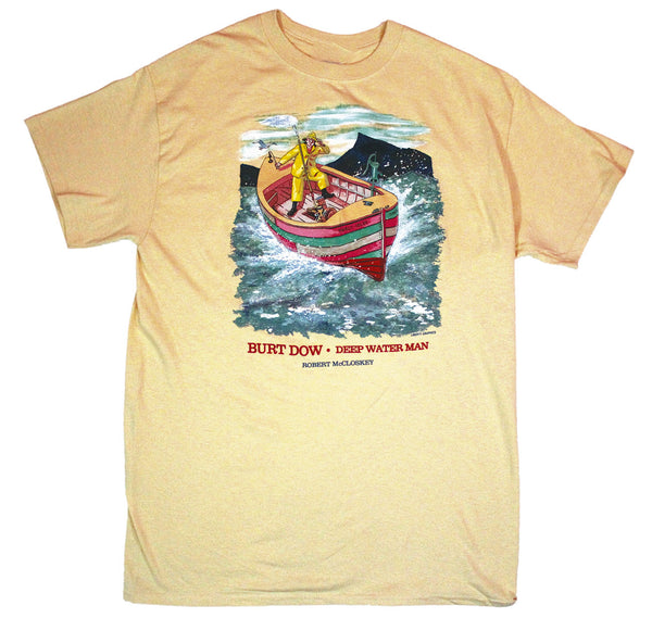 Robert McCloskey Burt Dow – Tidely Idley Adult T-shirt