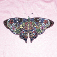 Earth Art Butterfly Ladies Frost Pink T-shirt