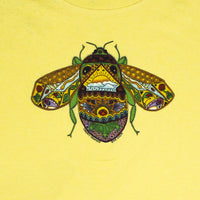 Earth Art Bee LAT Ladies Fitted Banana T-shirt