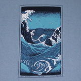 The Wave Adult Stone Blue T-shirt