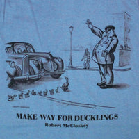 Robert McCloskey Make Way – Officer Toddler Light Blue T-shirt