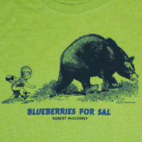 Bear Robert McCloskey's Blueberries for Sal – Toddler Key Lime T-shirt