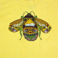 Earth Art Bee Toddler Butter T-shirt