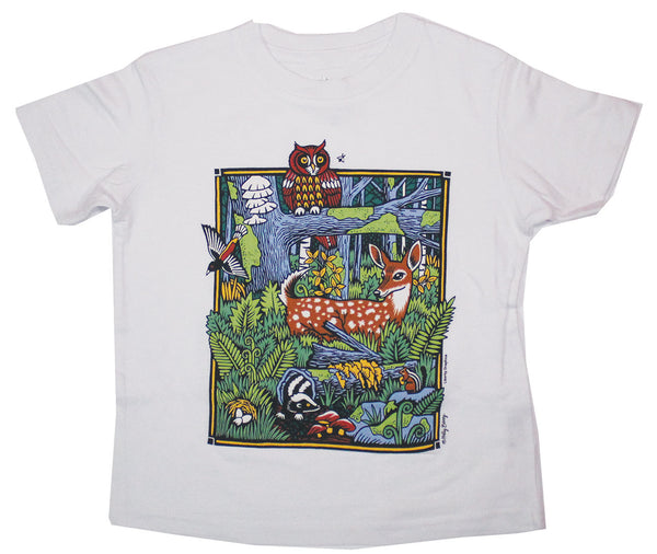Forest Scene Toddler T-shirt