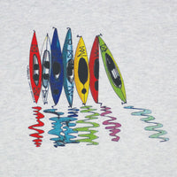 Kayak Reflections Youth Ash T-shirt