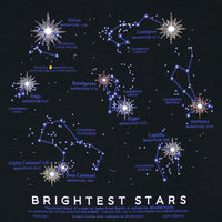 Brightest Stars Youth Black T-shirt