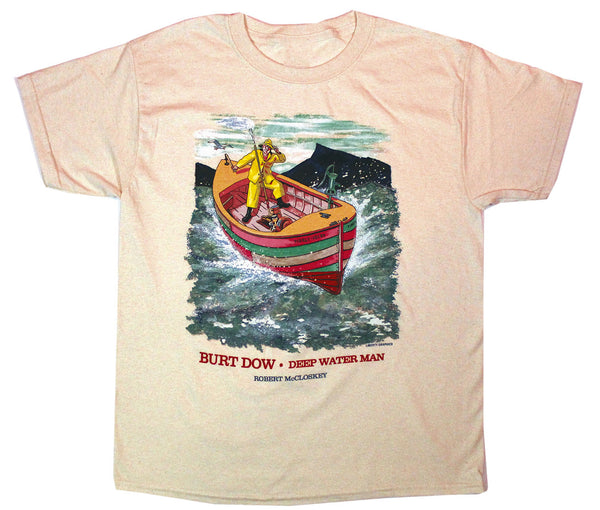 Robert McCloskey Burt Dow – Tidely Idley Youth T-shirt