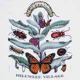 Milkweed Village Youth White T-shirt