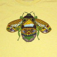 Earth Art Bee Youth Yellow Haze T-shirt