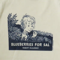Robert McCloskey Blueberries for Sal Cover - Organic Infant Natural One-piece