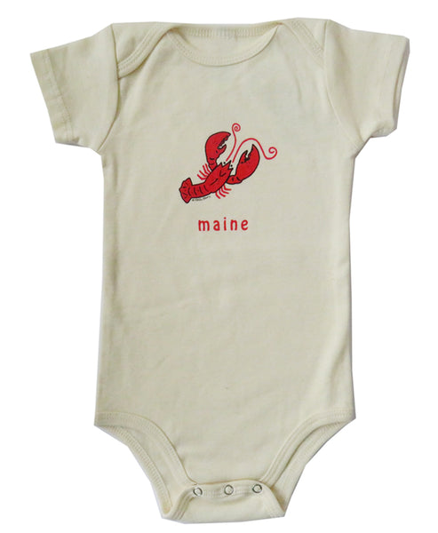 Little Lobster Organic Infant Natural One-piece