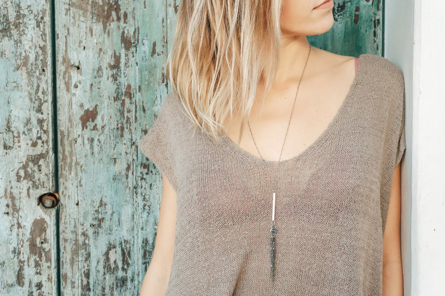 Adjustable Tassel Necklace