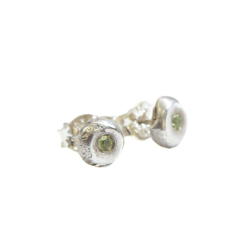 Flush Set Stud Earrings