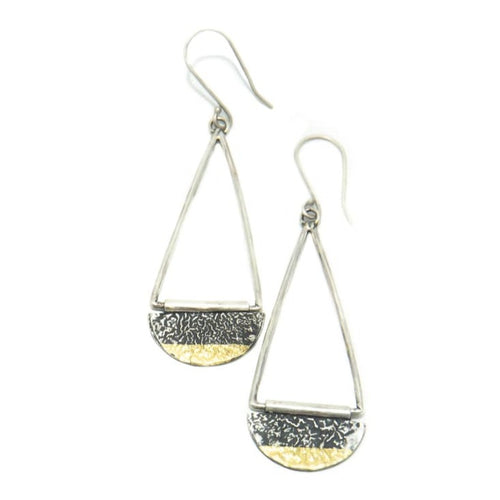 Half Moon Keum-boo Earrings