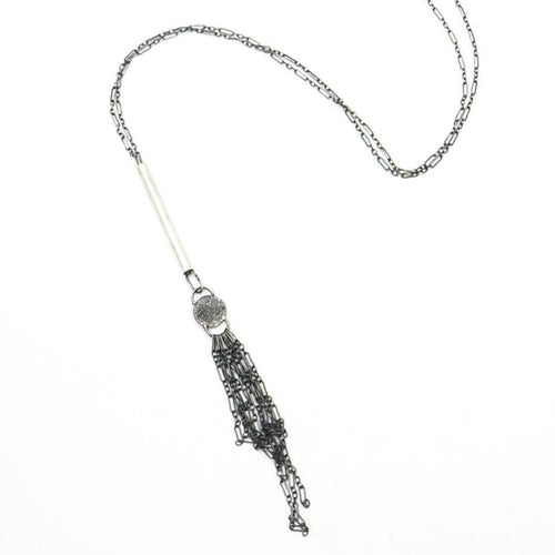 Luna Adjustable Tassel Necklace