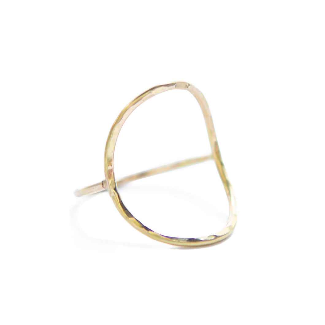Open Saddle Ring