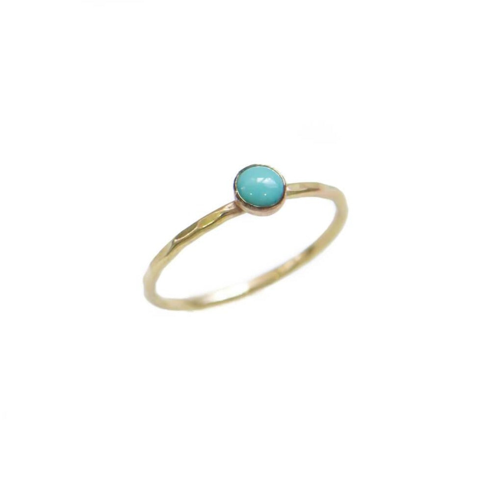Gem Stackable Ring, Turquoise