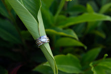 Aquamarine Spinner Ring
