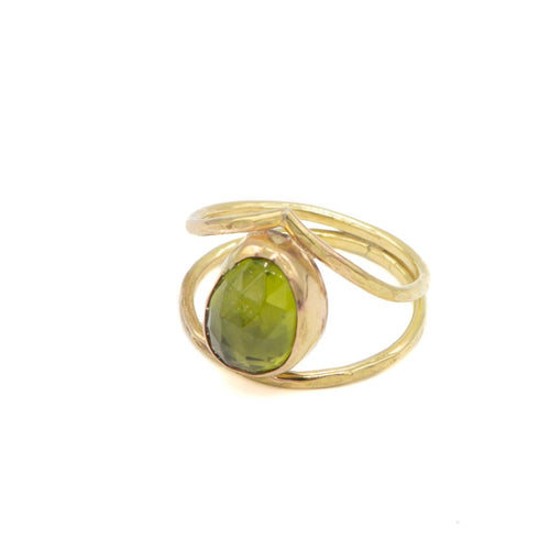 Neptune Arc Ring, Peridot