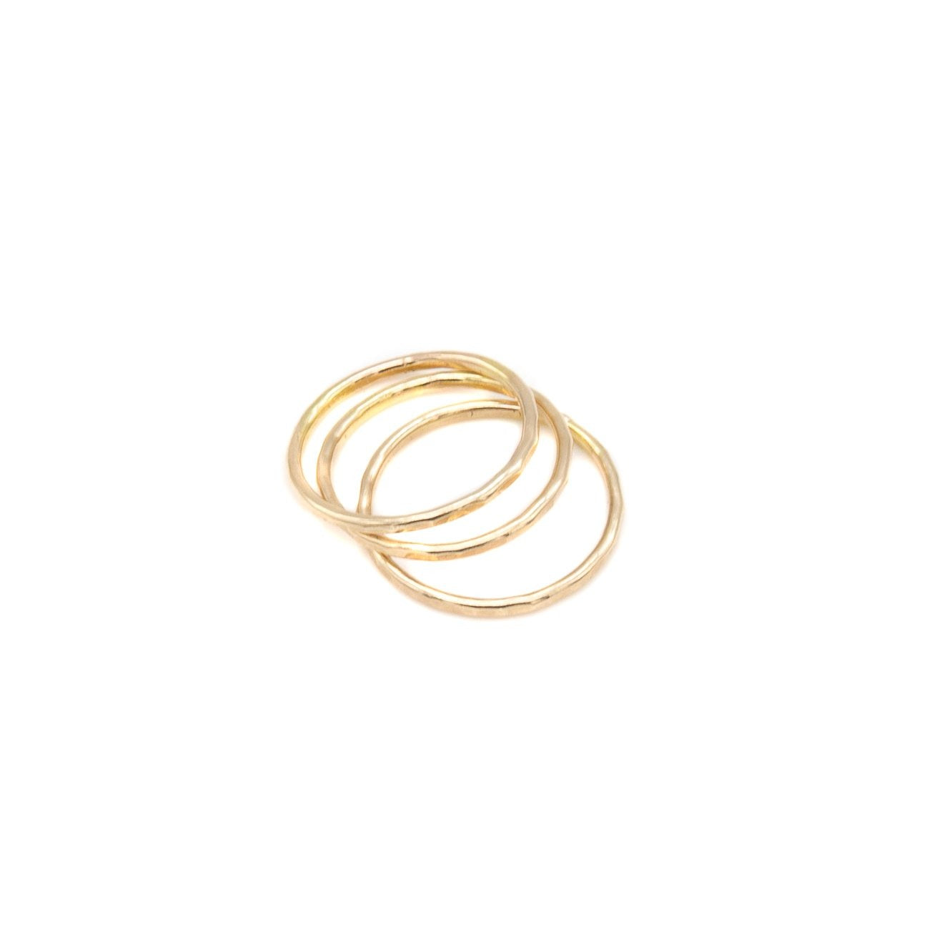 Chic Stackable Ring, 14k Gold Fill