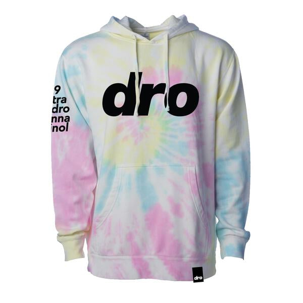 DRO Cotton Candy Tie Dye Pullover Hoodie