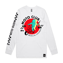 DRO Moto White Long Sleeve