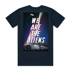 DRO Aliens Navy T-shirt