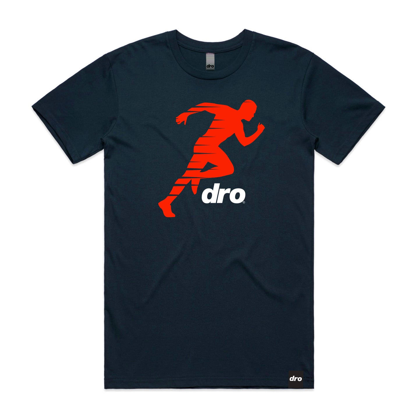 DRO Dope Runner Navy T-shirt