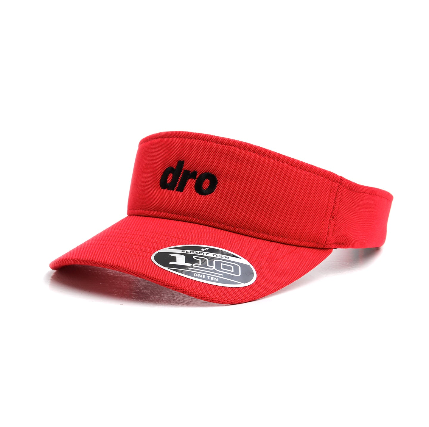 DRO Red Visor Black Logo
