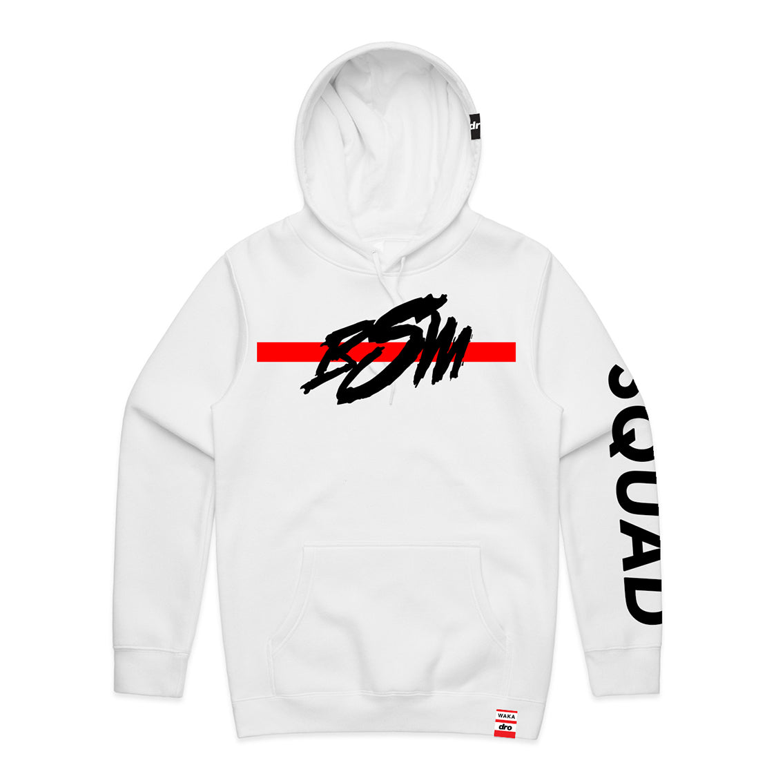 X Waka Flocka - BSM Staple White Pullover