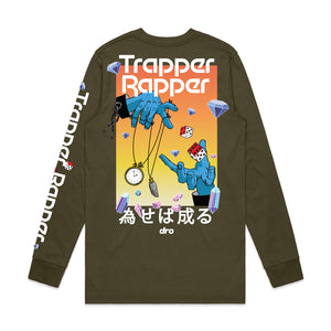 Trapper Rapper Army Long Sleeve Tee