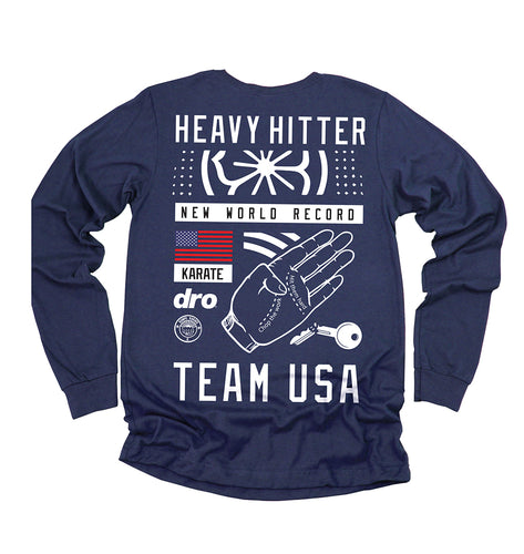 Heavy Hitter Long Sleeve T-Shirt