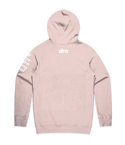 DRO Dirty Pink Staple Pullover Hoodie