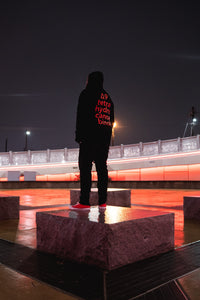 DRO Delta 9 Red Zip-Up Hoodie