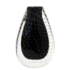 Vase Bubble Medium Black