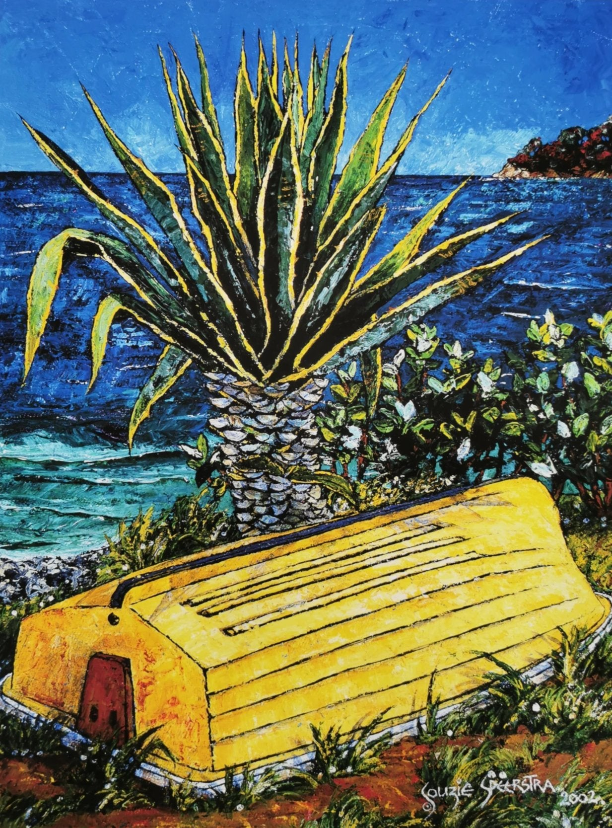 Yellow Dinghy, Russell