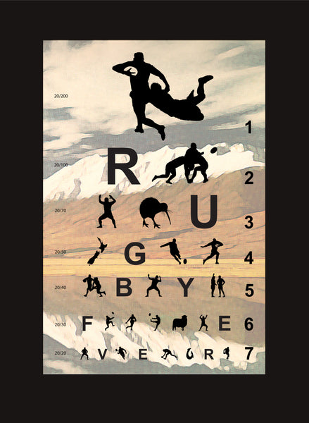 Eye chart for Rugby Fever 1.1