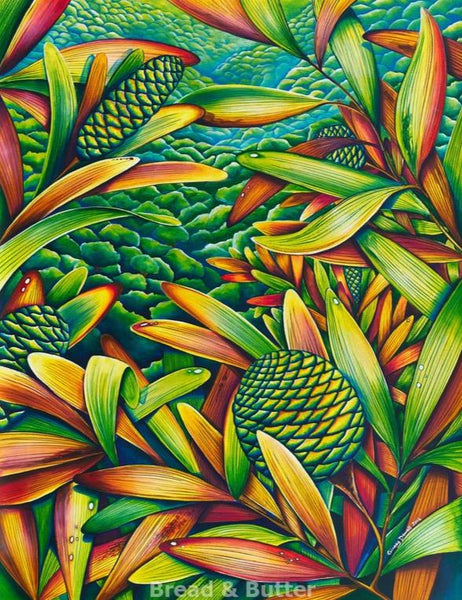 Kauri Leaves - Bread & Butter Gallery