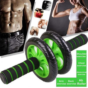 d7f1bf41f69 Exercise Equipment Roller Abdominal Muscle Workout Fitness Gym Home Train  Tool