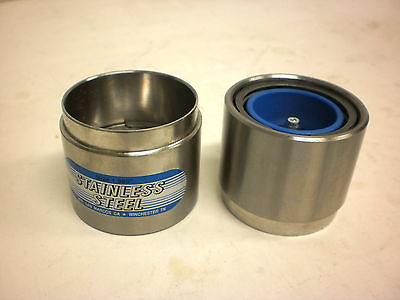 1.98 Stainless Steel Wheel Bearing Protectors Buddy 3500# Boat Trailer (07371U)