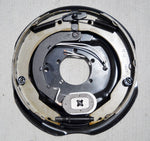 1-Drivers Side 12 x 2 Trailer Brake Complete Backing Plate Assembly 6K 7K Axles (12RVEBLH)