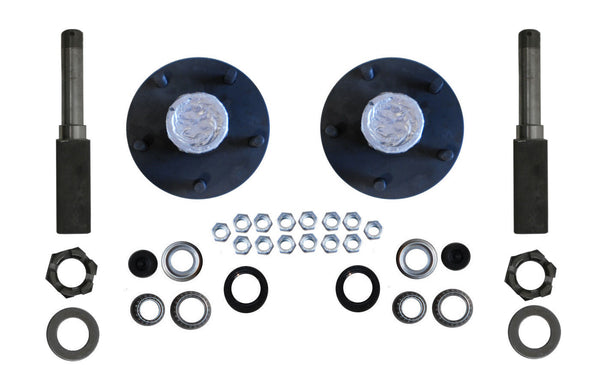 Build Your Own Trailer Axle Kit  2000# Camper SP204BT8 Axel BYOAK-BT8-H545-SQ