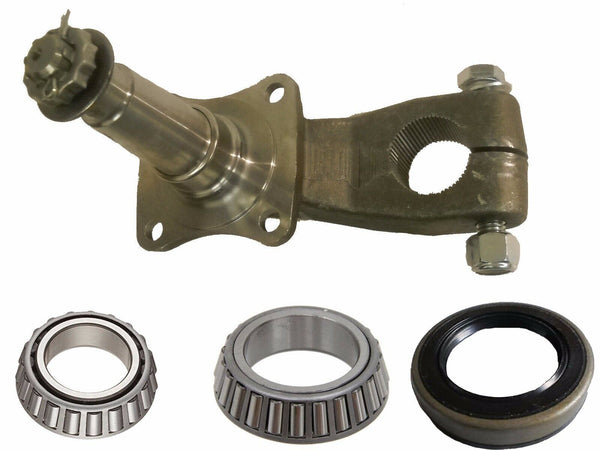 UFP 3500 Pound Lubed Indexable Spindle with Bearings and Seal Kit Trailer Camper (36233U-KIT))