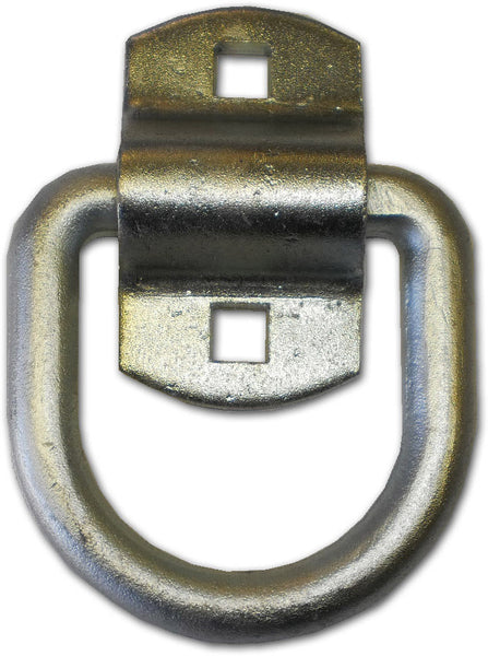 "1/2"" Lashing Tie down D Rings Zinc 12,000# Tractor Equipment Heavy Duty (LRB1)"