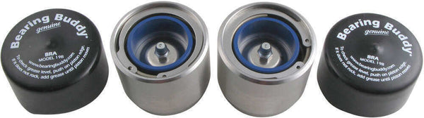 "1.98"" Stainless Steel Original Bearing Buddy Protector with Auto Check 3500# (BB1980A-SS)"
