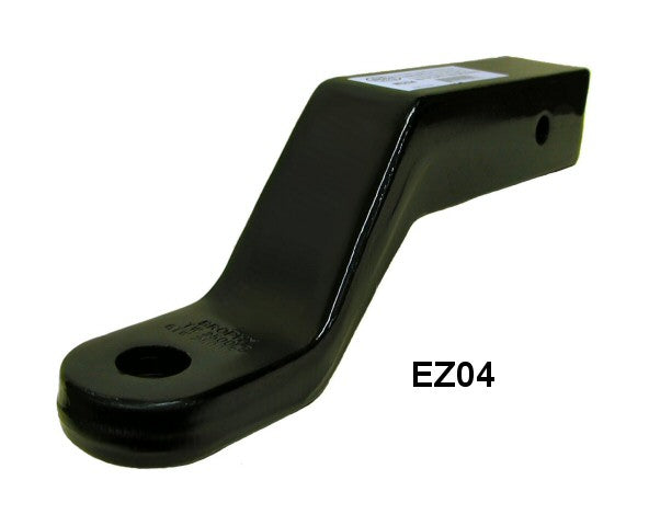 "Heavy Duty Receiver Hitch Forged 4-1/2"" Drop Ball Mount 1.25"" Hole, 2.5"" Tube 25k (EZ04)"