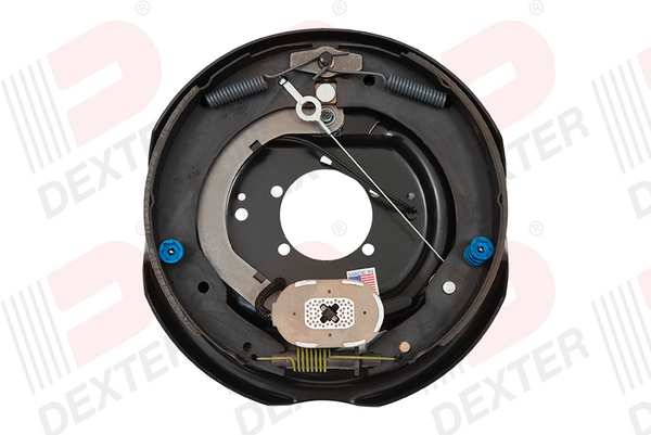 "Dexter 12""x 2"" Never-Adjust Nev-R-Adjust Electric Trailer Brake Backing Plate 7000# Left (023-464-00)"