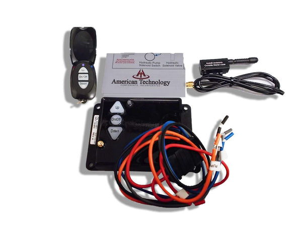 Dump Trailer Wireless Remote Control System 12 volt Hydraulic Lift Winch Tilt (RCS08)