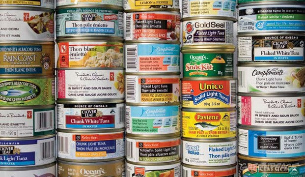 Canned Tuna (60 Cans)